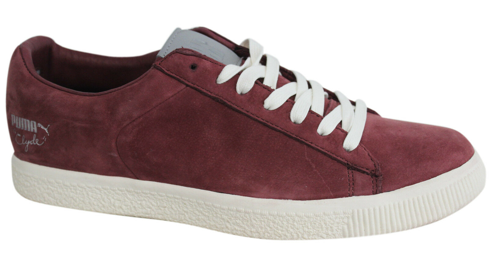 Puma Clyde X Undefeated Luxe 2 Trainers Lace Up Mens Leather Trainers 2 354265 01 D95 17e6c7