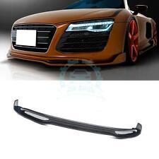 Auto Part Car Front lip Body Kits For Audi R8 V8 V10 08-15 Retrofit Carbon Fiber