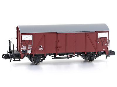 Mu N-g54001 Neu Firm In Structure Güterwagen Gms 54 Mit Bremserbühne Db Epoche Iii Spur N