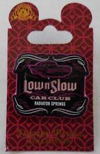 Disney Pin DCA Cars Land Low n Slow Car Club Radiator Springs w/ Ramone Pin