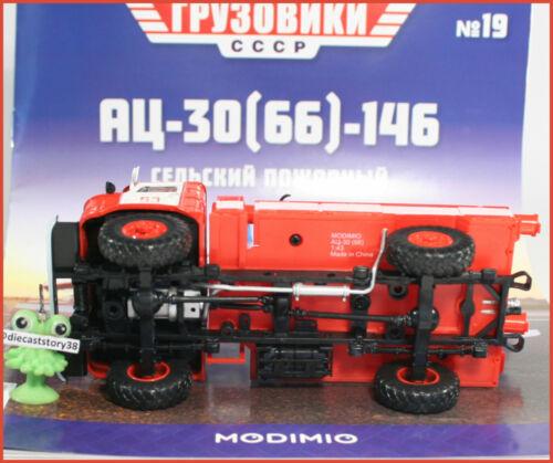 66 -146 Feuerwehr FW 4x4 russian Modimo #19 LKW USSR truck UdSSR 1:43 AC-30