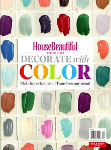 House Beautiful Special Issue Decorate With Color 2018 Pick The
