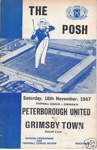 PETERBOROUGH-UTD-V-GRIMSBY-TOWN-3RD-DIVISION-18-11-67