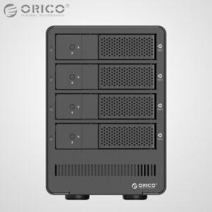 ORICO-Aluminum-4Bay-USB-3-0-3-5-034-Inch-SATA3-0-Hard-Drive-HDD-Enclosure-Array-Box