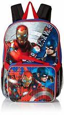 16 Marvel Captain America Civil War Full Size Backpack