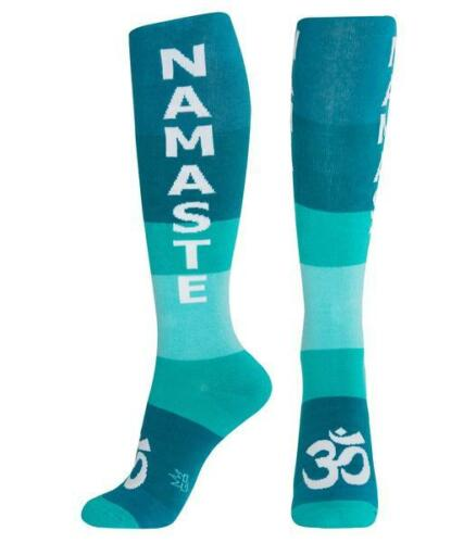 Gumball Poodle Knee High Socks Unisex Namaste Teal
