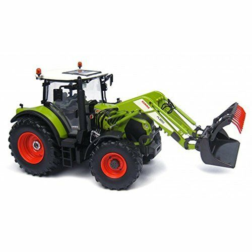 Claas 530 with Front Loader si è verificata cancelli TRACTOR 1:32 MODEL 4299 UNIVERSAL HOBBIES