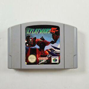 Lylat Wars N64 Nintendo 64 Juego LYLATWARS-solo Carro-GRATIS UK FRANQUEO