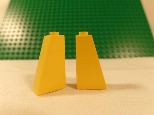 1 LEGO 4460 Dachstein Schrägstein 1x3x3 Noppen 29mm hoch Weiß Grau Gelb