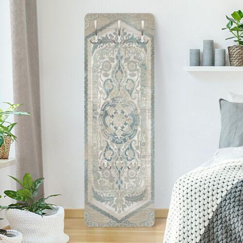 Flur Garderobe Holzpaneel Persisch Vintage IV Haken Flurgarderobe Texturen