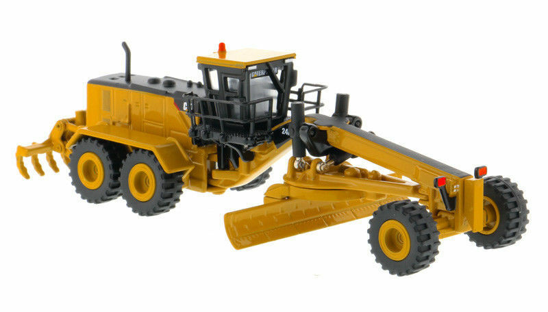 1 125 DM Caterpillar Cat 24M Motor Grader Elite Diecast  85539