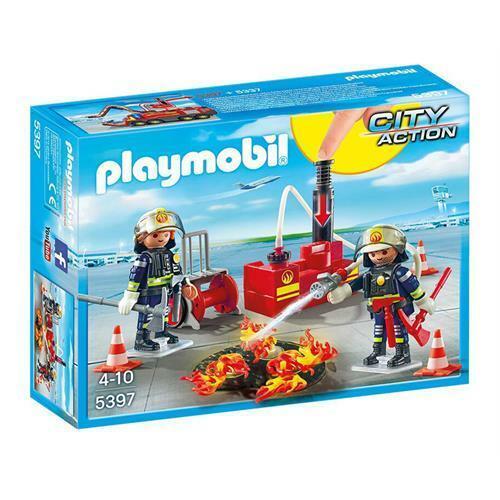 PLAYMOBIL 5397 Brandeinsatz mit Löschpumpe
