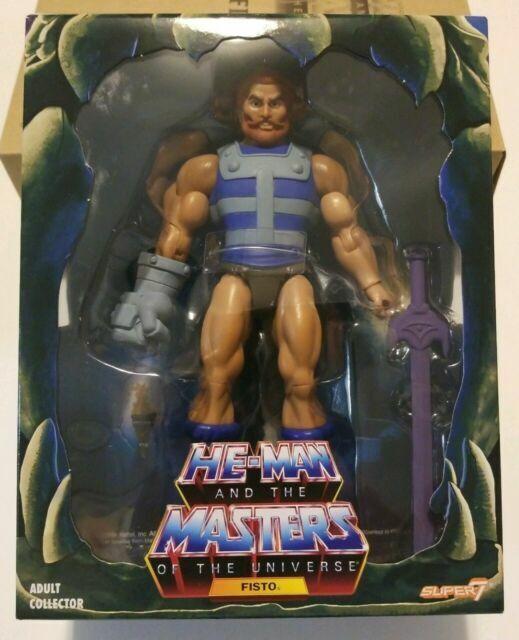 MOTU Club Grayskull Fisto Action Figure Masters Of The Universe Filmation New