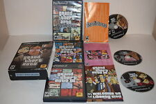 Grand Theft Auto Trilogy Sony Playstation 2 PS2 Video Game Complete