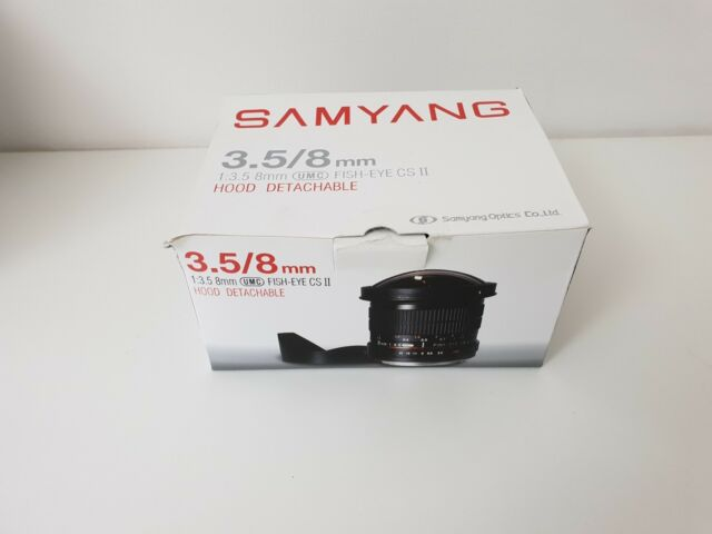 Samyang Obiettivo 8mm F/3.5 umc Fish-eye II Nikon