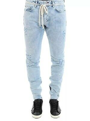 REPRESENT CLO NWT $195 Men/'s Knee Destroyer Denim Pant Retail