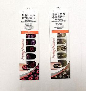Sally Hansen Salon Effects Nail Sitckers Choose Design 3D or Foil ...