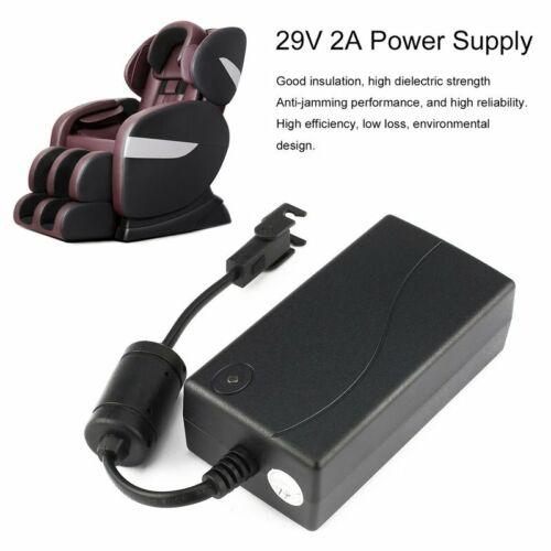 for OKIN Power Recliner Chair AC//DC Power Supply Transformer Adapter 29V 2A Pu