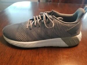 38744e6e1cd Details about Adidas Questar BYD Shoes Men s Size 13 Grey Grey White