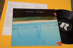PETER HAMMILL VAN DER GRAAF GENERATOR LP IN A FOREIGN ORIG ITALY 1980 EX INSERTO