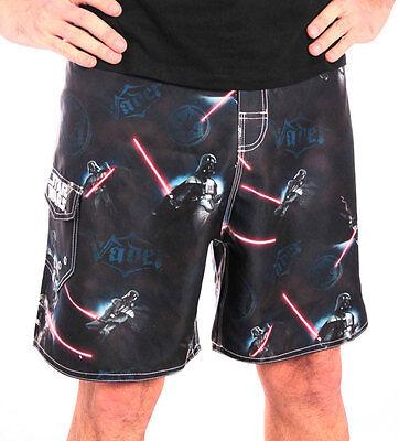 Clever Star Wars Vader Sabre Swimsuit Badeanzug Men Herren Size Größe L Timecity