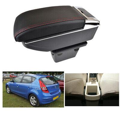 SENYAZON for Hyundai Elantra Touring i30 FD i30cw Dual Layer 2007-2011 Armrest Arm Rest Center Console Storage Box Leather 2008 2009 2010 Flexible