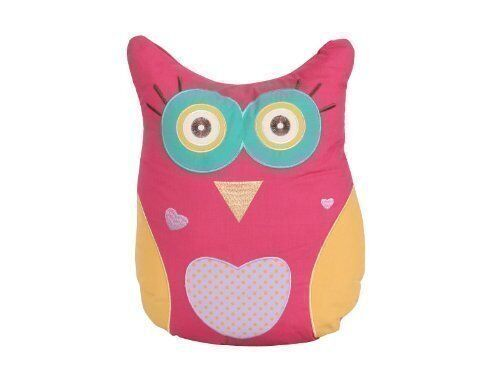 Owl shaped33 x 40cm Filled ChildrensKids Cushion