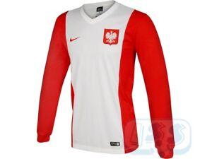 BPOL145s  Poland fan LS shirt - brand new official Nike fans jersey ... bc21bdb74