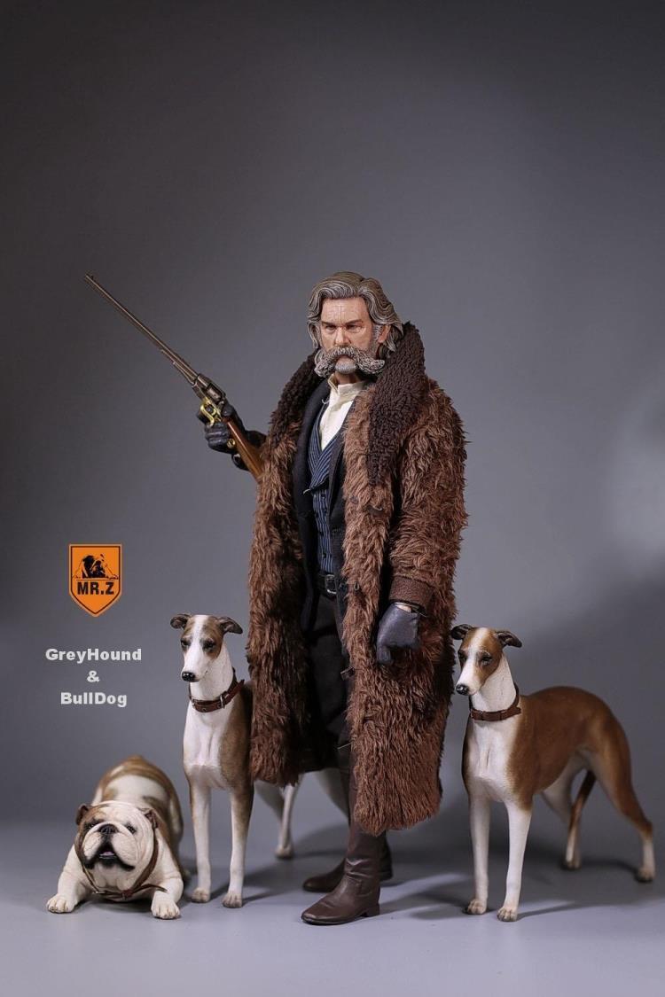 Mr. z 1   6 umfang pet - modell 14 grauhound tierische hund modell spielzeug für 12  abb.