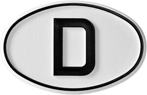 Hoch-Relief-D-Schild-Emblem-Deutschland-D-Schild-HR-Art-16001-selbstklebend