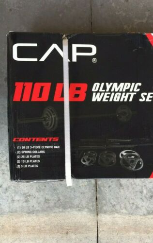 """Barbells Sets CAP Olympic 2/"""" Grip Weight Plates"""