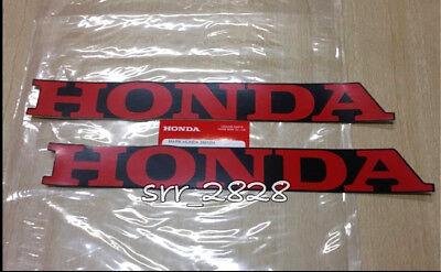 Honda Belly Pan Fairing Sticker Decal CBR CBX CM XR VTR CBF VFR RED 280mm x 35mm
