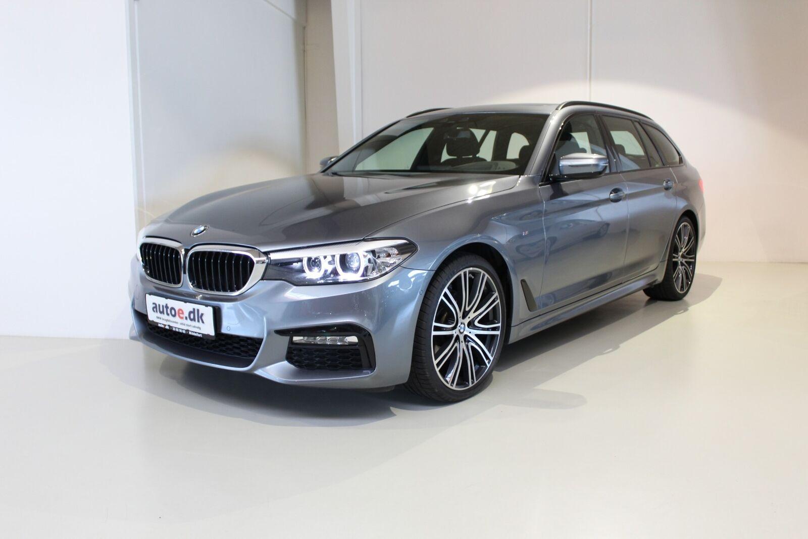 BMW 520d 2,0 Touring M-Sport xDrive aut. 5d - 449.800 kr.