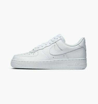 Nike Air Force 1 07 Le Niedrig Alle Weiß Herren Größe 6 12 | eBay