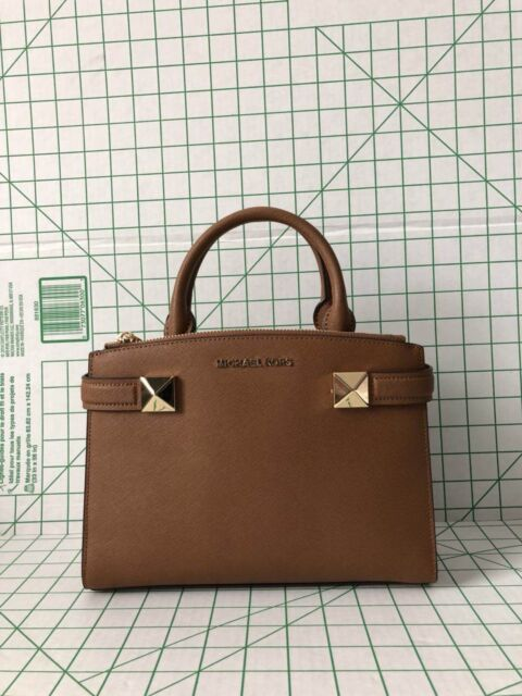 Nwt Michael Kors Karla Small East West Satchel Handbag Luggage Purse
