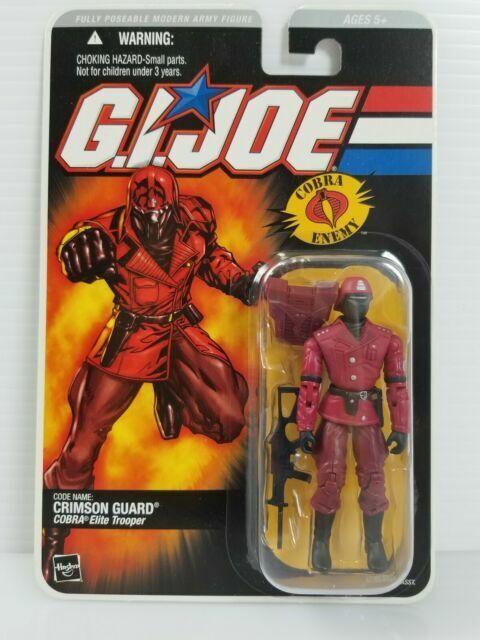 GI Joe body part 2005 Crimson Guard V7 Torso C8.5 très bon état