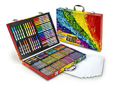 Art Case 140 Piece Set Colored Pencils Washable Markers Crayons Supplies Drawing