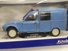 Solido Citroen Acadiane 1984 Modellauto Transporter Auto Miniatur Blau 1:18