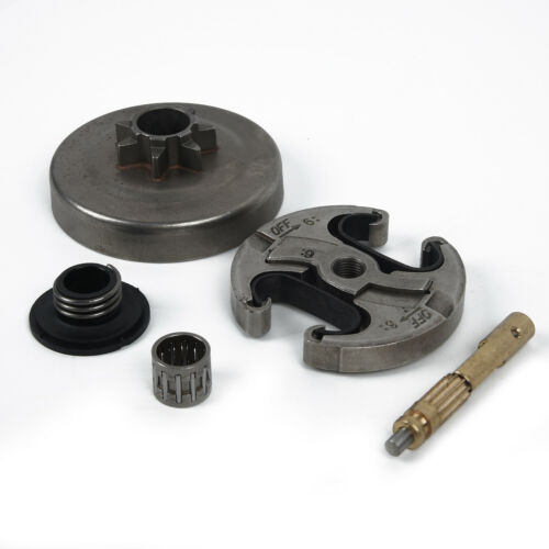 Chainsaw 7T Clutch Drum Oil Pump Worm Gear Set For Husqvarna 340 345 350 445 450
