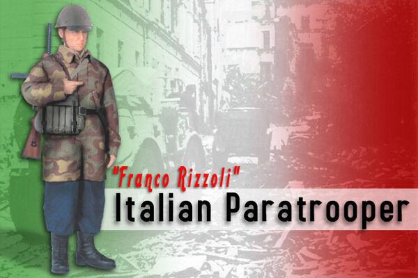 Dragon 16 SCALA WW II ITALIANFranco RizzoliParacadutista