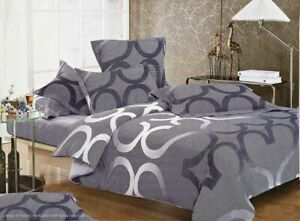 SONEY-Duvet-Doona-Quilt-Cover-Set-Double-Queen-King-Super-King-Size-Bed-New