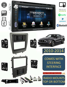 2010-2014 FORD MUSTANG AM/FM CD/DVD BLUETOOTH USB/AUX CAR RADIO STEREO