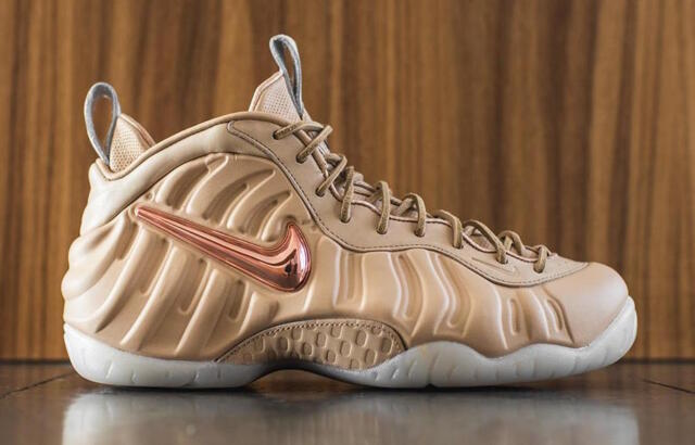 Nike Air Foamposite Pro PRM QS All Star Vachetta Tan Size 11. 920377-200 Jordan