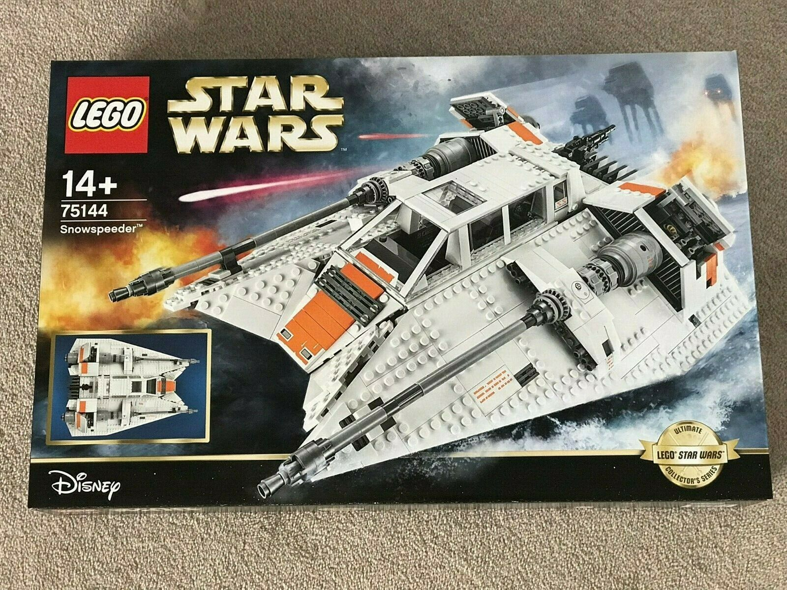 Lego Star Wars 75144 Snowspeeder Ultimate Collector Series BRAND NEW UCS