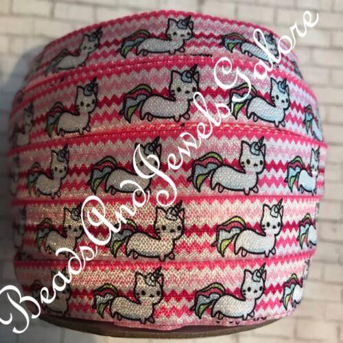 Caticorn foe cat elastic unicorn foe unicorn hair ties foe caticorn elastic 5//8