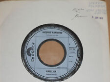 "JACQUES RAYMOND -Angelika- 7"" 45 Polydor Promo Archiv mint"