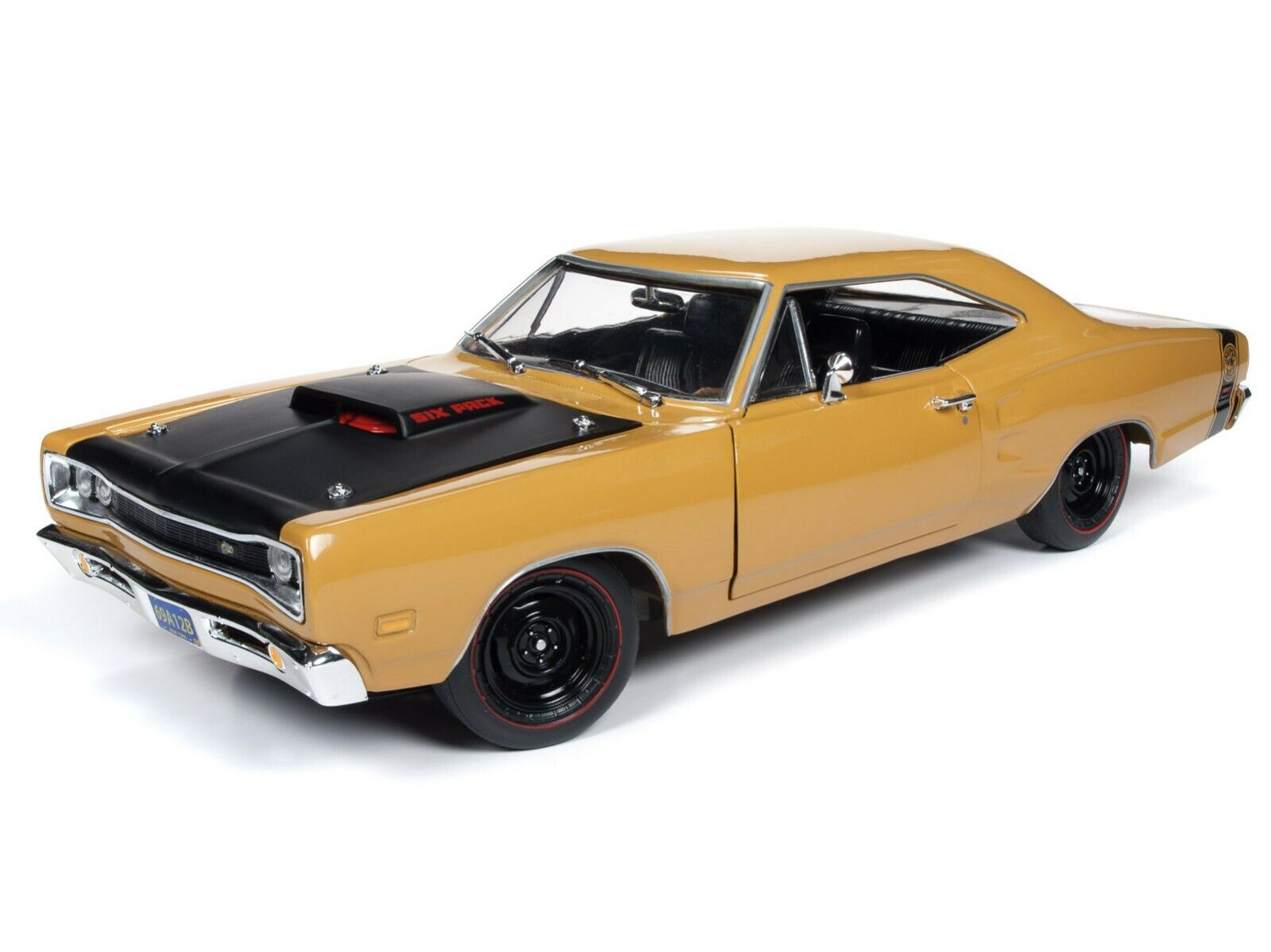 2019 1 18 AUTO WORLD AMERICAN MUSCLE BUTTERSCTOCH 1969½ Dodge SUPER BEE NIB