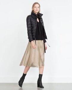 Puffer leggero donna Solid Zara da Xl Size Nwt Piumino nUaqf7Exwq