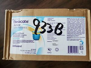 NUTRICIA 1 EA 12690USA Neocate Junior Pediatric Nutrition