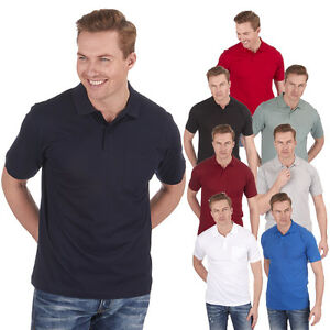 Men-039-s-Casual-Plain-Polo-Shirt-Cotton-Jersey-Top-With-Pocket-Summer-Sports-Golf